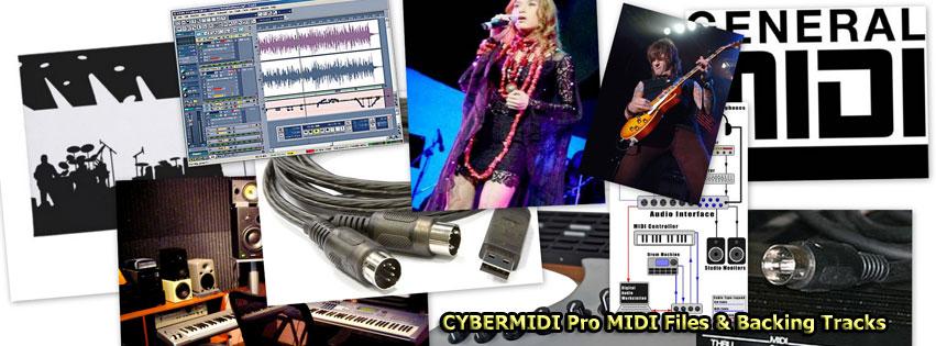 Join CYBERMIDI - download Pro MIDI Files - backing tracks for