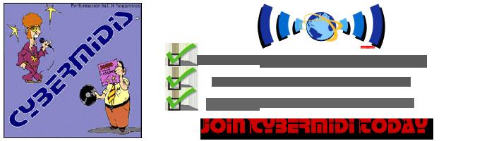 Join CYBERMIDI - download Pro MIDI Files - backing tracks